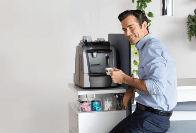 Serviços e distribuição de café para empresas