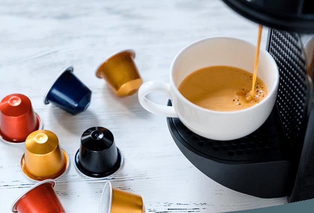 Máquinas de café em pastilhas para empresas