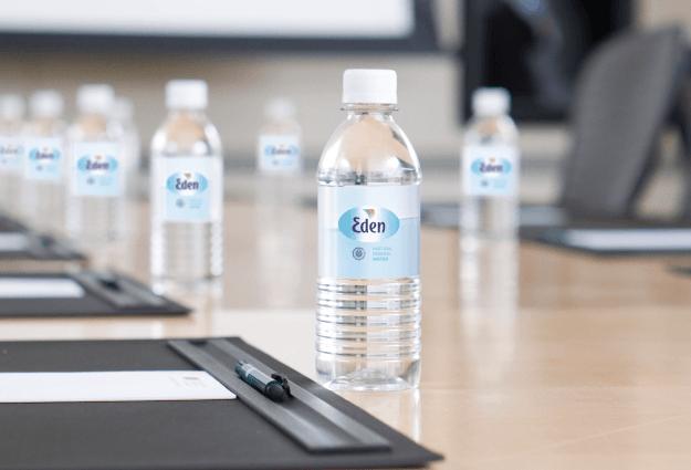 Garrafas de água entregues no seu escritório